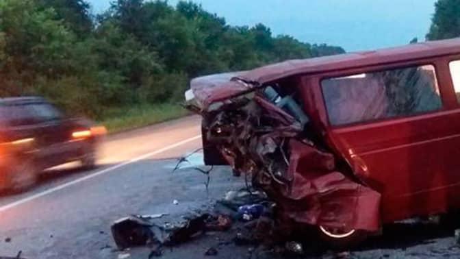 В ДТП под Воронежем выжила только десятилетняя девочка, еще восемь человек погибли