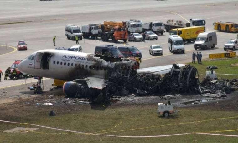 Пилоты сгоревшего Суперджета планировали уйти на дополнительный круг