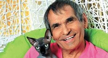 Кот, сбежавший из квартиры Бари Алибасова, нашелся