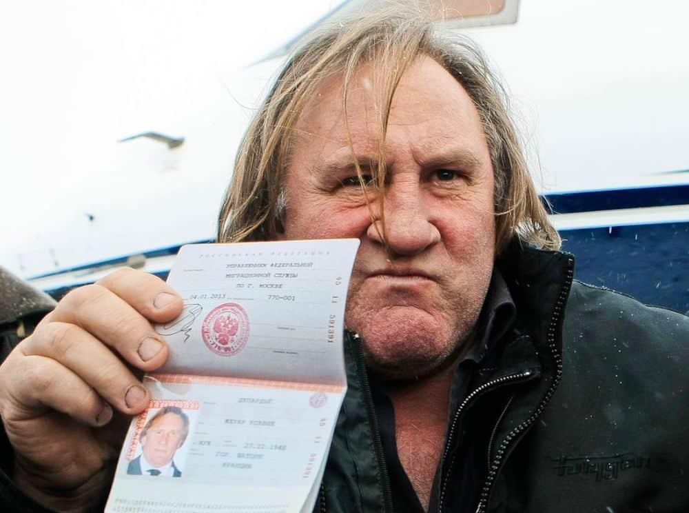 Почему Депардье сбежал из России и отказался от российского гражданства?