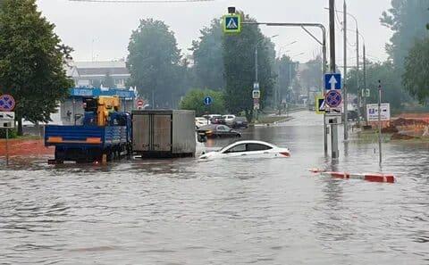 Наводнение в Шереметьево: последние новости сегодня 29.06.2019. Какие улицы перекрыты