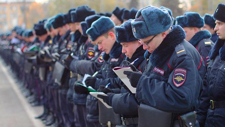 Полиция россии в 2019 году