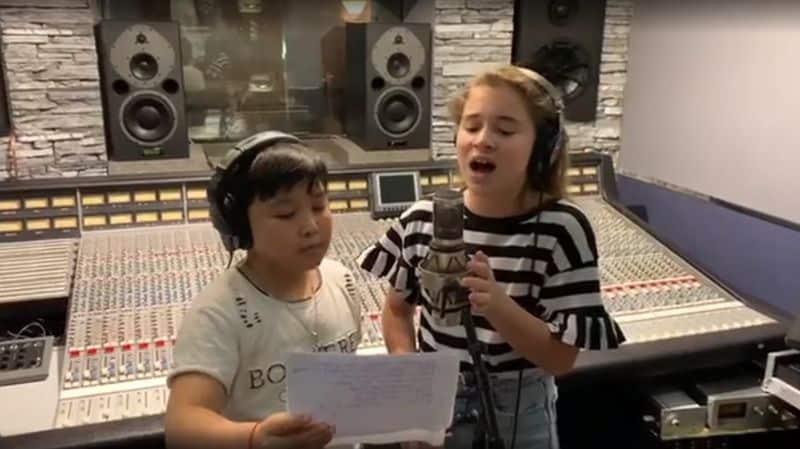 """Микелла Абрамова и Ержан Максим записали совместную песню """"Это Любовь"""""""