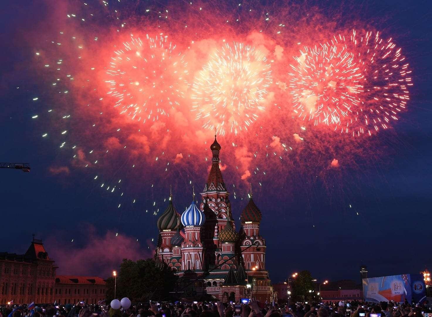 Салют 12 июня 2019 в Москве на День России: где и когда будет