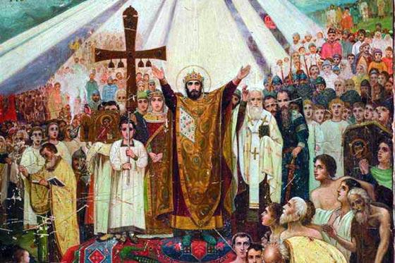28 июля 2020 по церковному календарю День крещения Руси