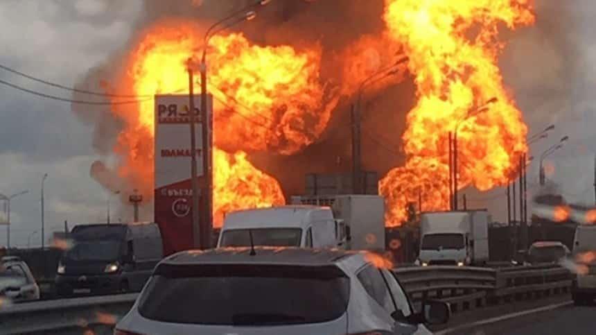Взрыв на ТЭЦ в Мытищах 11 июля: пожар, что произошло (ВИДЕО)