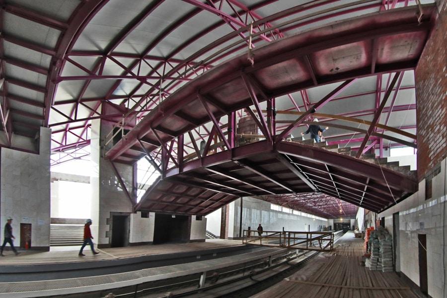 Открытие станции метро Шушары в Санкт-Петербурге: когда откроют, на сколько отложили