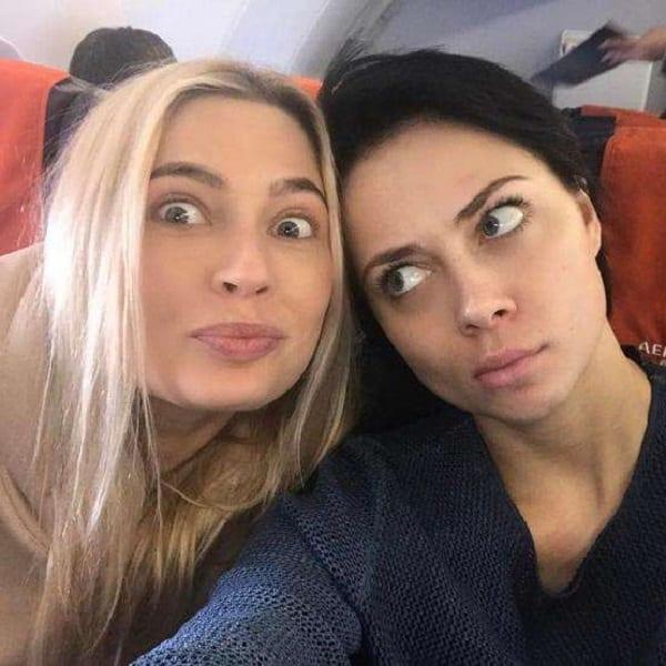 Скандал из-за приложения «Face App»: Настасья Самбурская «состарила» фото Натальи Рудовой