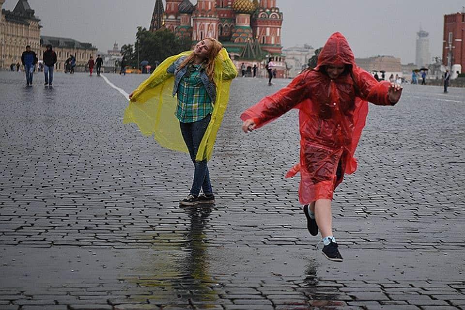 Когда в Москву вернется лето: когда закончатся дожди в Москве