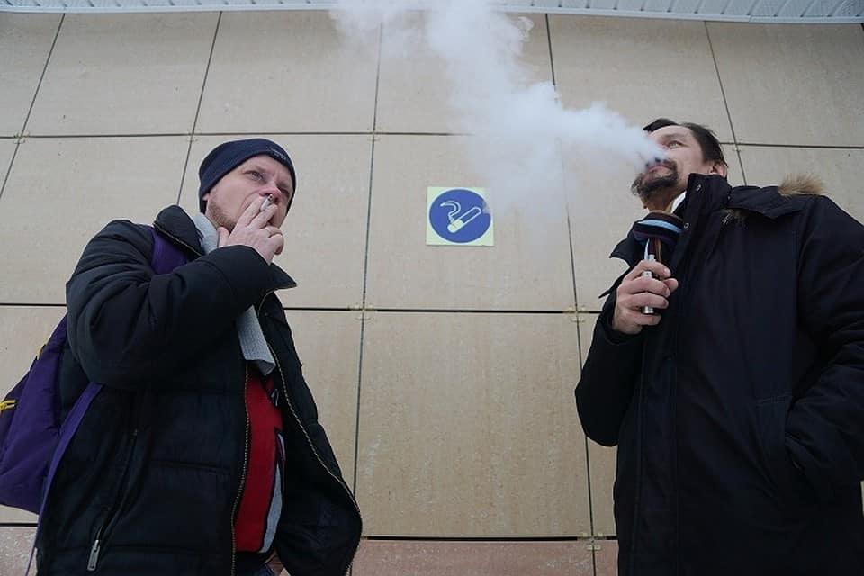 Запрет на курение вейпа в общественных местах вводят в регионах России