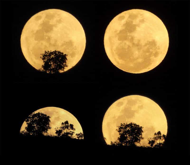 фото луны в разных фазах подобный восьмистрельной
