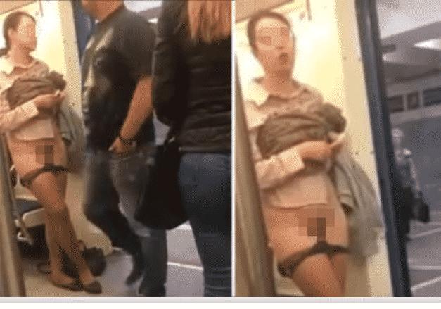Женщина разделась в московском метро: что произошло, смотреть фото и видео