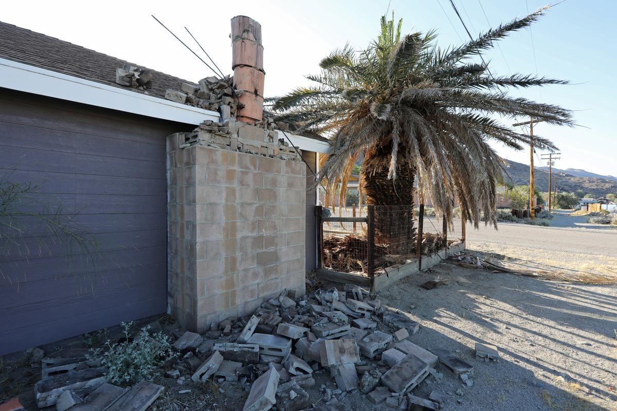 Сильное землетрясение в Калифорнии: фото и видео