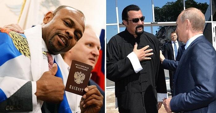 Звезды Голливуда которые сильно любят Россию