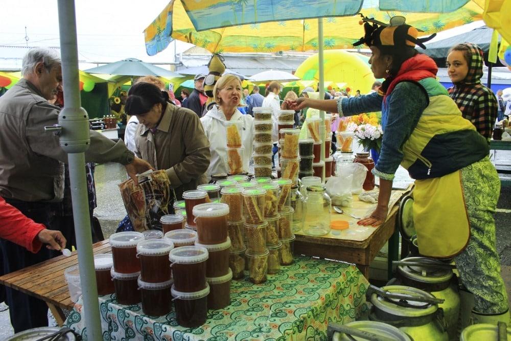 Ярмарка мёда в Томске на Медовый Спас в 2019 году: какого числа откроется