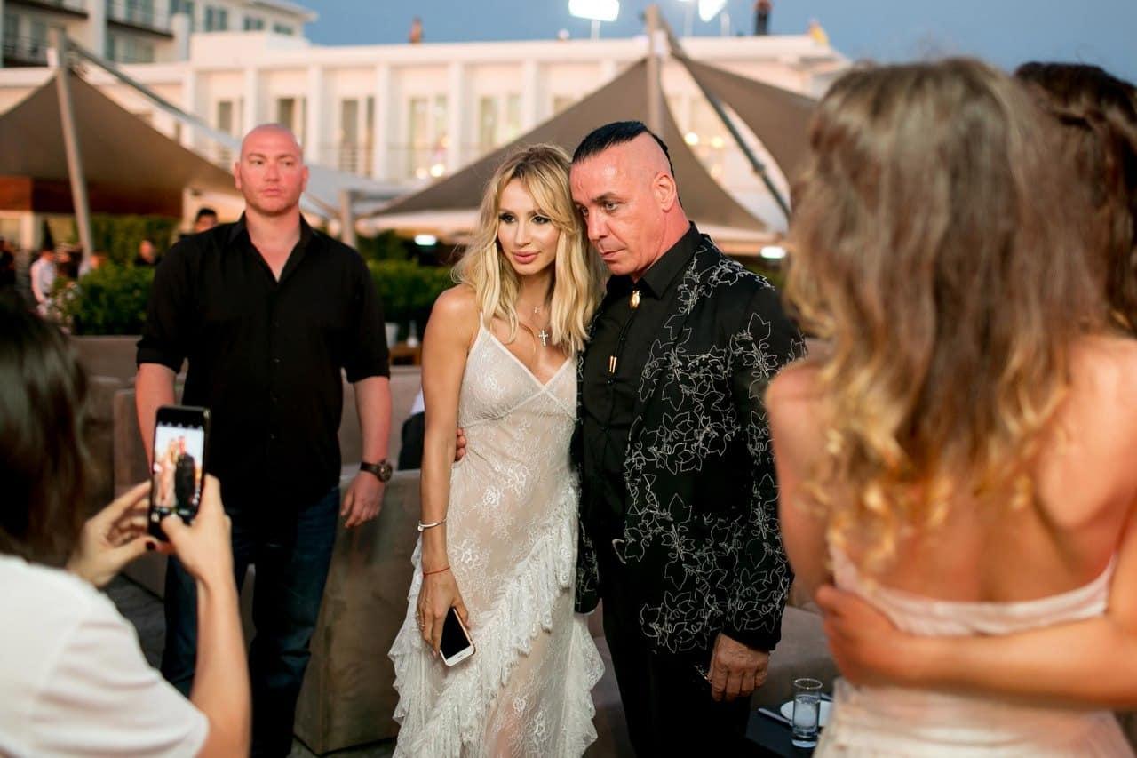 Светлана Лобода и Тилль Линдеман: вместе или нет, свежие фото