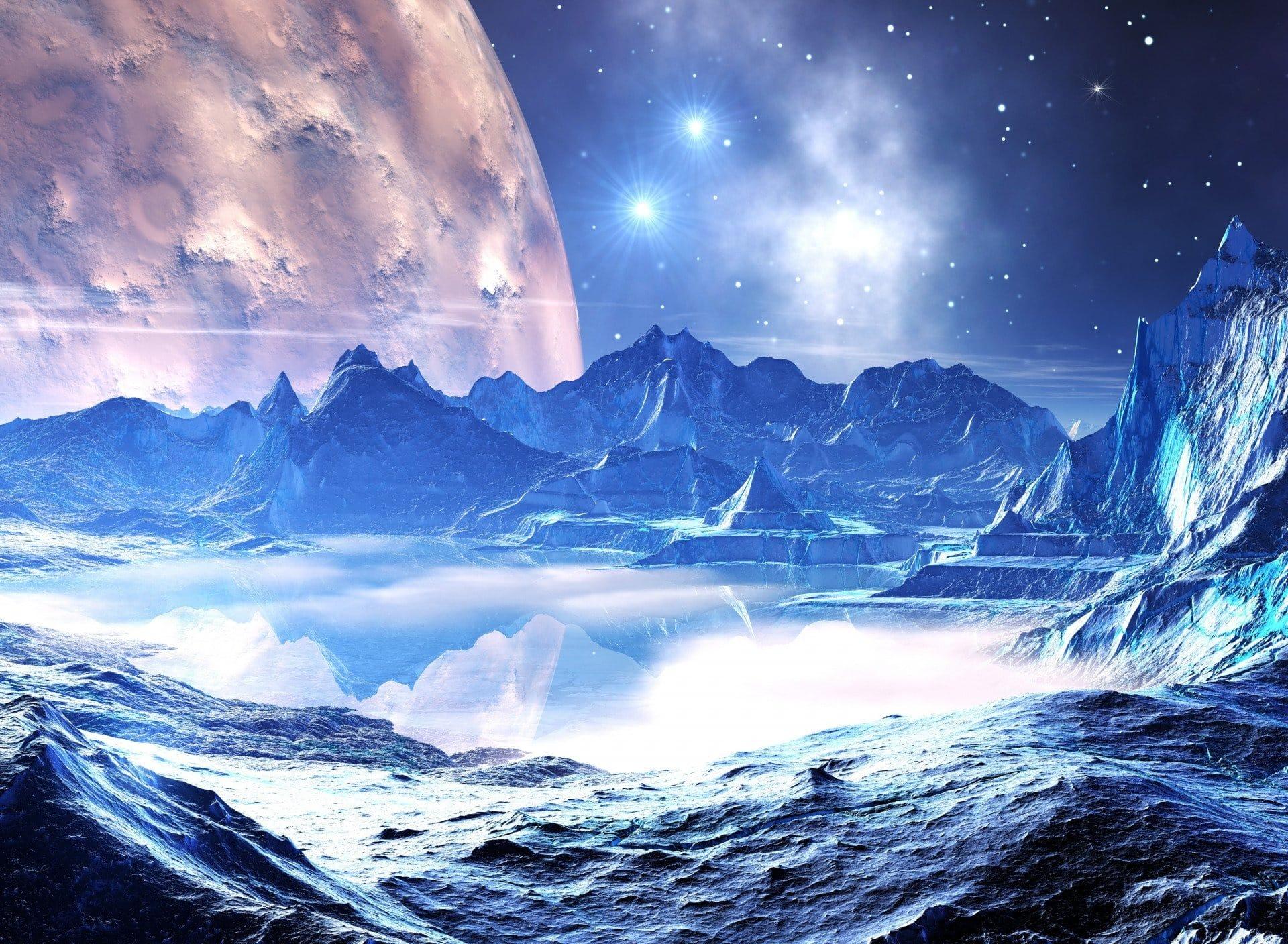 Обледеневшие планеты могут ли поддерживать жизнь?