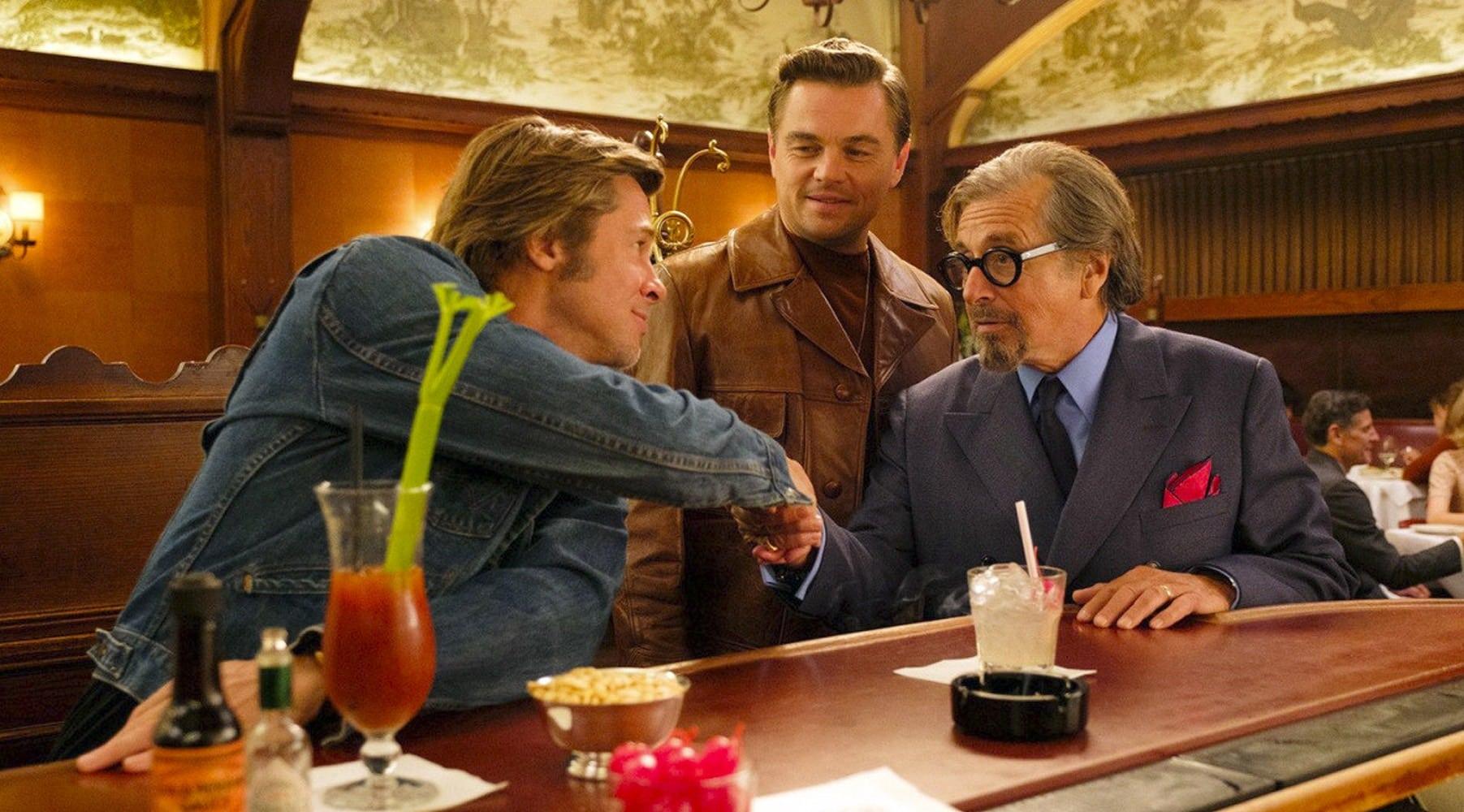 Однажды в Голливуде (2019): отзывы зрителей, актеры - Леонардо Ди Каприо и Брэд Питт