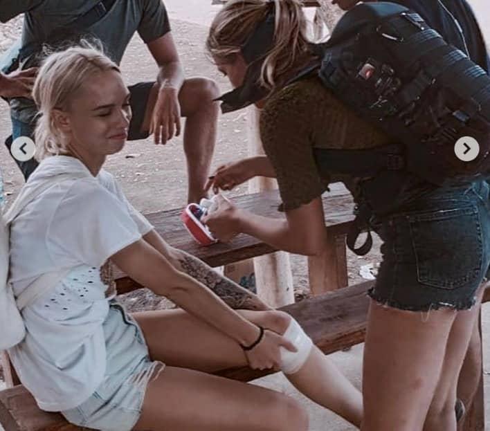 Диана Шурыгина избила мужа: разбила нос во время отдыха на Бали