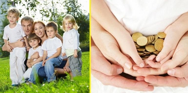 Какую помощь государство предоставляет семьям с тремя детьми в 2019 году?