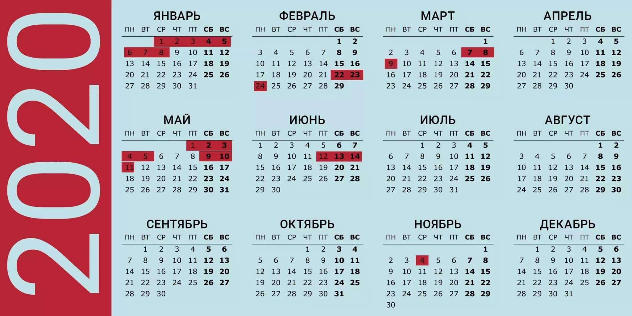 Как будем отдыхать на новогодние каникулы в 2020 году: утвержден производственный календарь на 2020 год