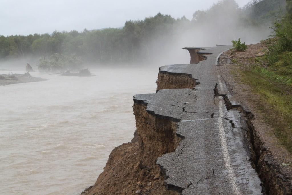 Тайфун в Приморье в августе 2019: что происходит сейчас, Юго-запад Приморья «залило» водой