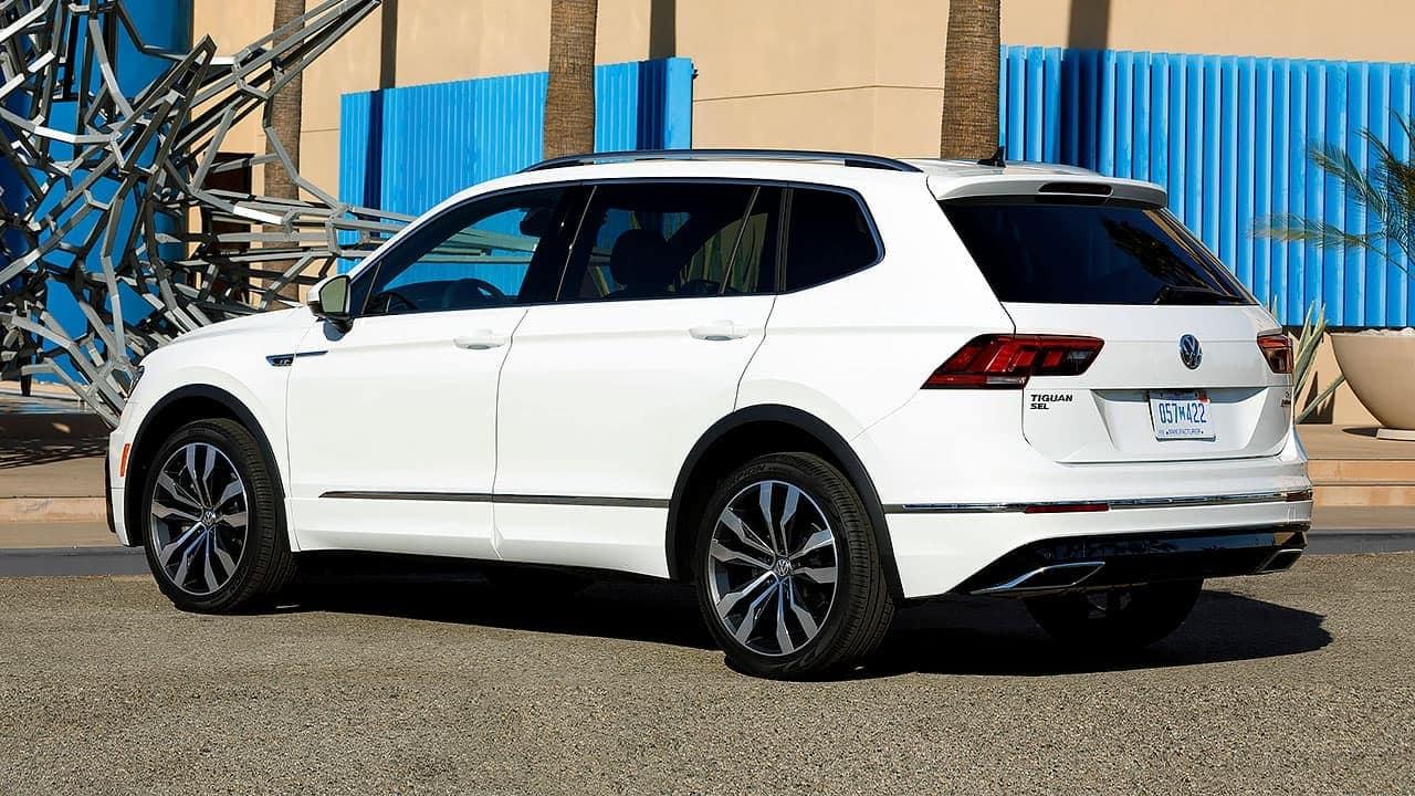 Volkswagen Tiguan 2020 после рестайлинга может появиться в России в сентябре 2019 года