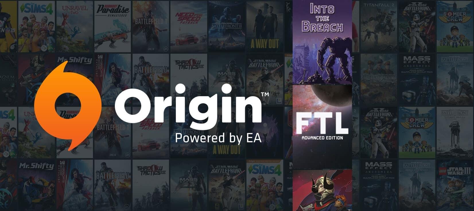 Распродажа Origin: до какого числа, список игр и цены