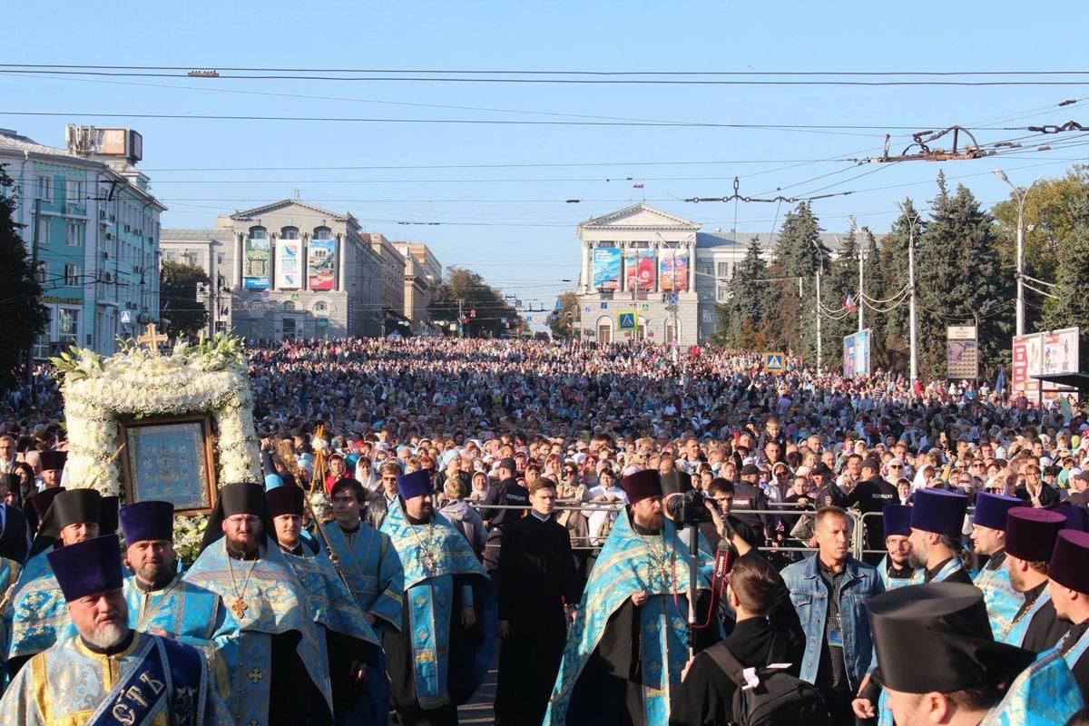 Время начала крестного хода в городе Курск в сентябре 2019