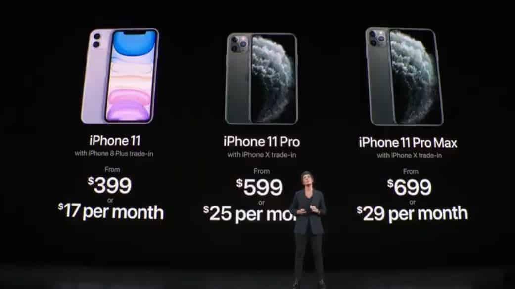 Новые iPhone 11: что показали на презентации Apple 10 сентября 2019