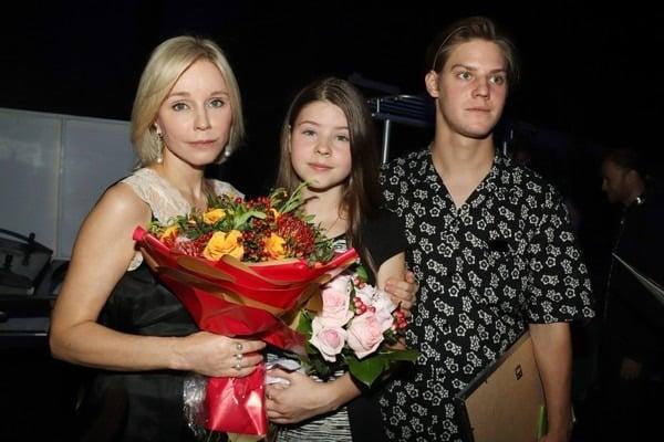 Дочь Олега Табакова - точная копиия Марины Зудиной
