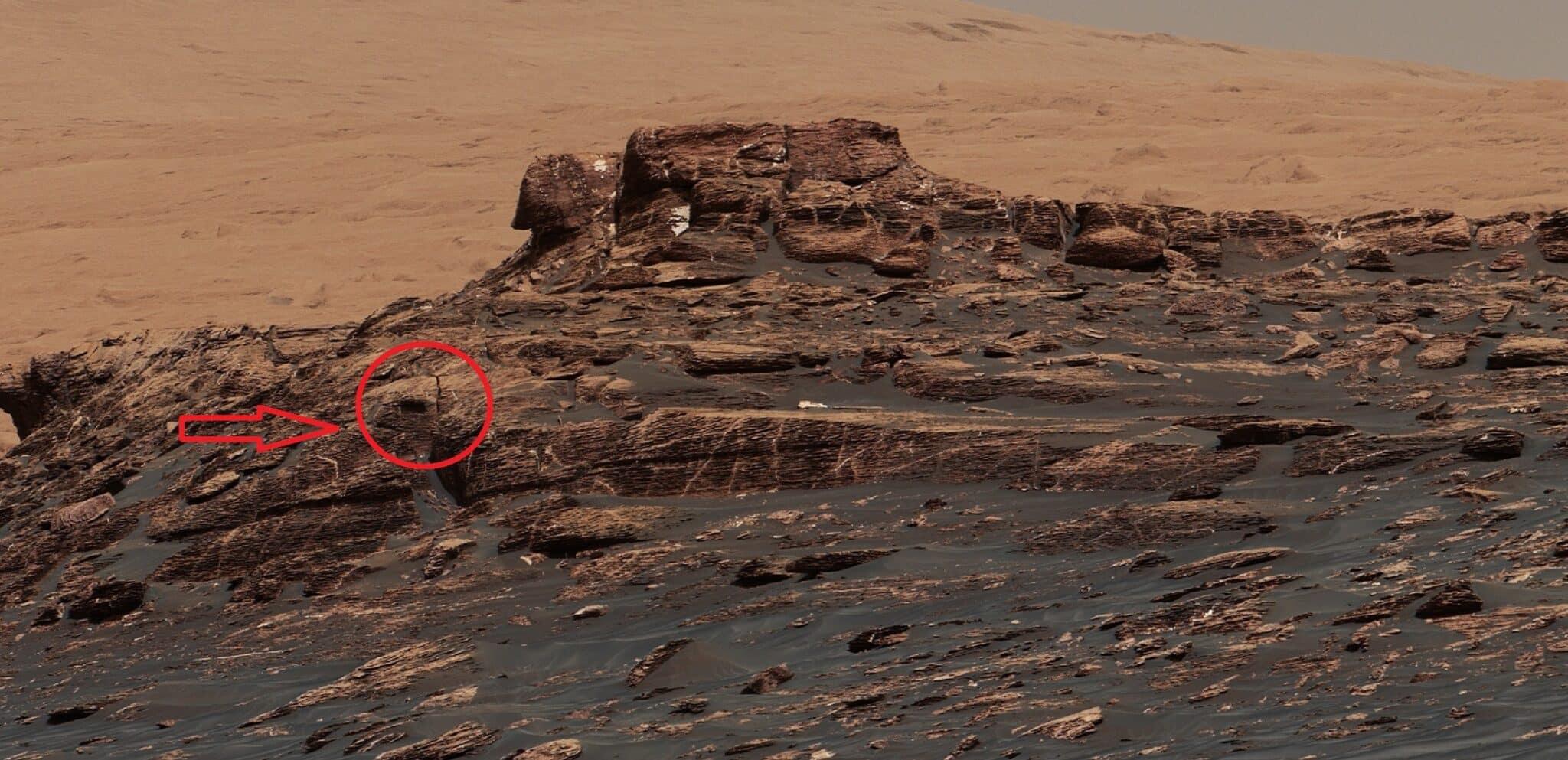 База пришельцев на Марсе: существует ли на самом деле,