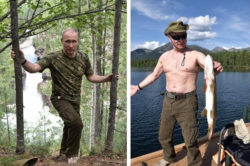 Как отдыхает лидер российского государства Владимир Владимирович Путин: где проводит отпуск, фото Путина на отдыхе