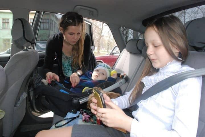 Возраст детей при перевозке в авто
