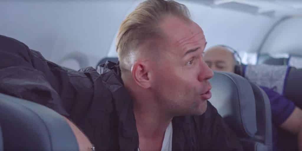 Максим Аверин задержан за пьяный дебош в самолёте: что произошло, кто зачинщик