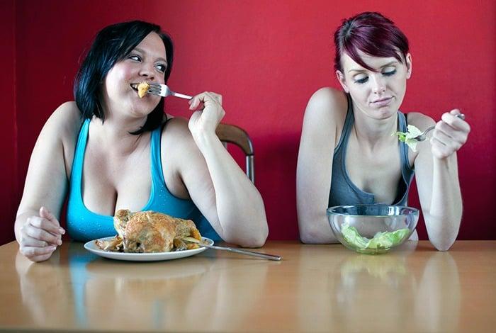 В чём сложность при похудении у людей с малым весом?