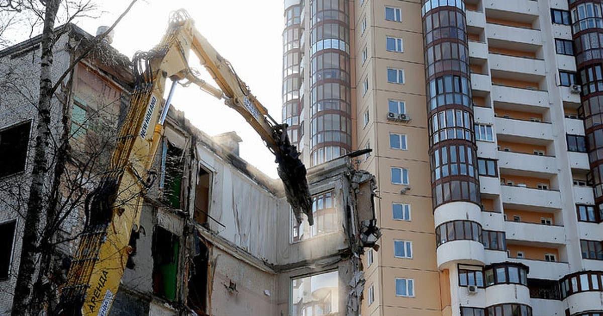 Апрельские новости о реновации в москве