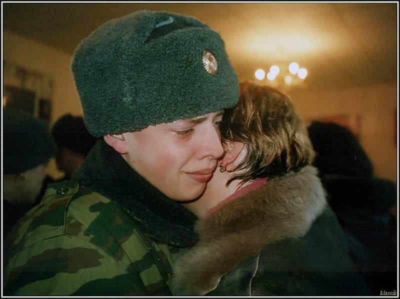 Как молиться за сына в армии