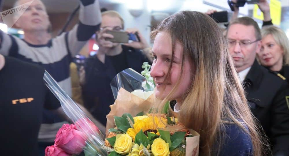 Мария Бутина вернулась в Москву