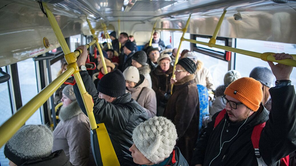За что россияне не любят общественный транспорт