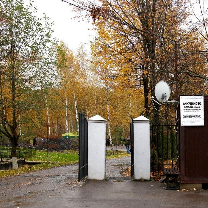 Родственники Заворотнюк получили бесплатное место на Московском кладбище