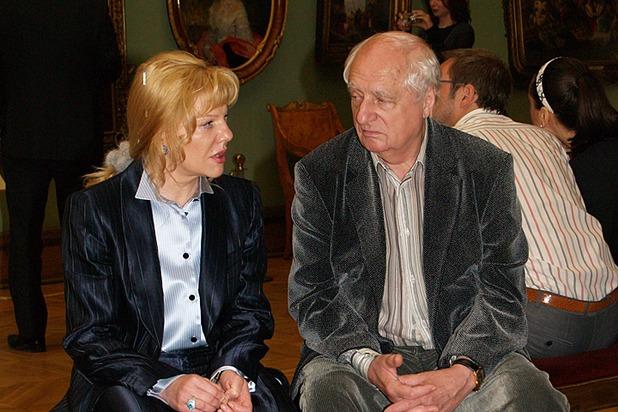 Александра Захарова, дочь Марка Захарова: биография, что ей сказал отец перед смертью
