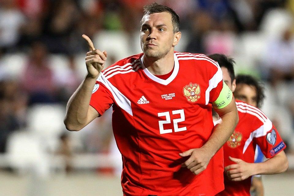 Сборная России обыграла команду Кипра, счёт 5:0, видео голов и статистика матча