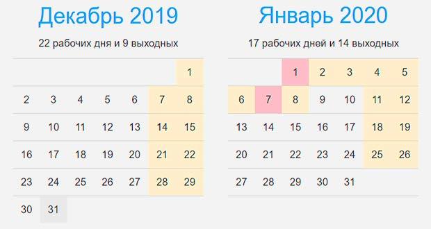 Новогодние каникулы 2020: сколько дней отдыхаем на Новый 2020 год
