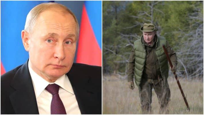 День рождения Путина 7 октября: где отпраздновал день рождения, таежное день рождение Путина
