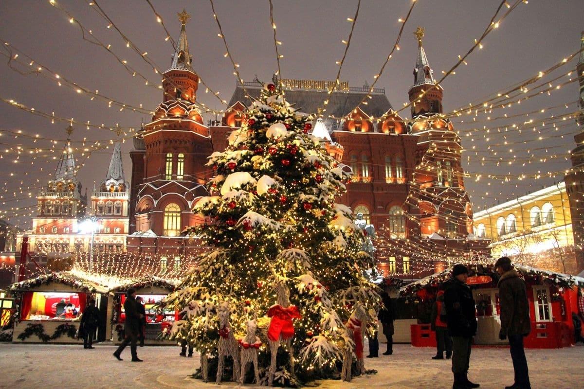 Новогодние картинки россии