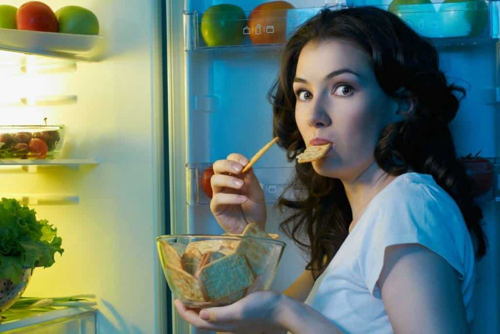 Что можно есть на ночь чтобы не поправиться