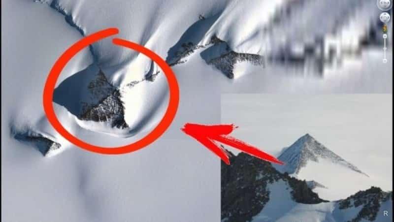 Ученые обнаружили в Антарктиде следы пришельцев: тайна загадочной гробницы
