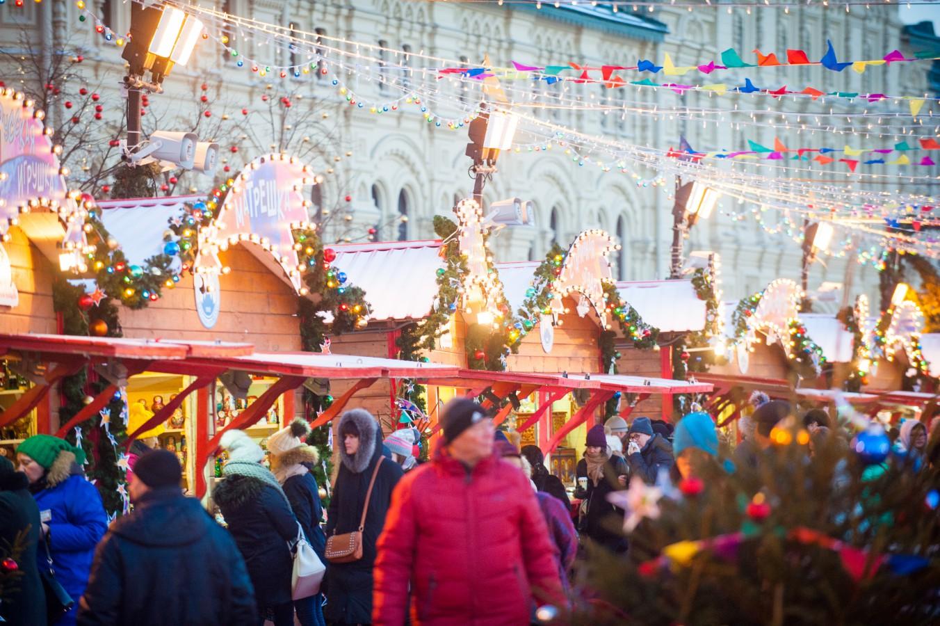 ГУМ каток на Красной площади будет открыт 29 ноября 2019 года