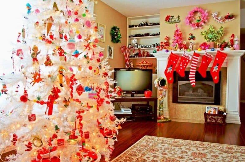Как влюбить в себя Белую Крысу и заручиться удачей на год: идеи для украшения дома к новогодней ночи